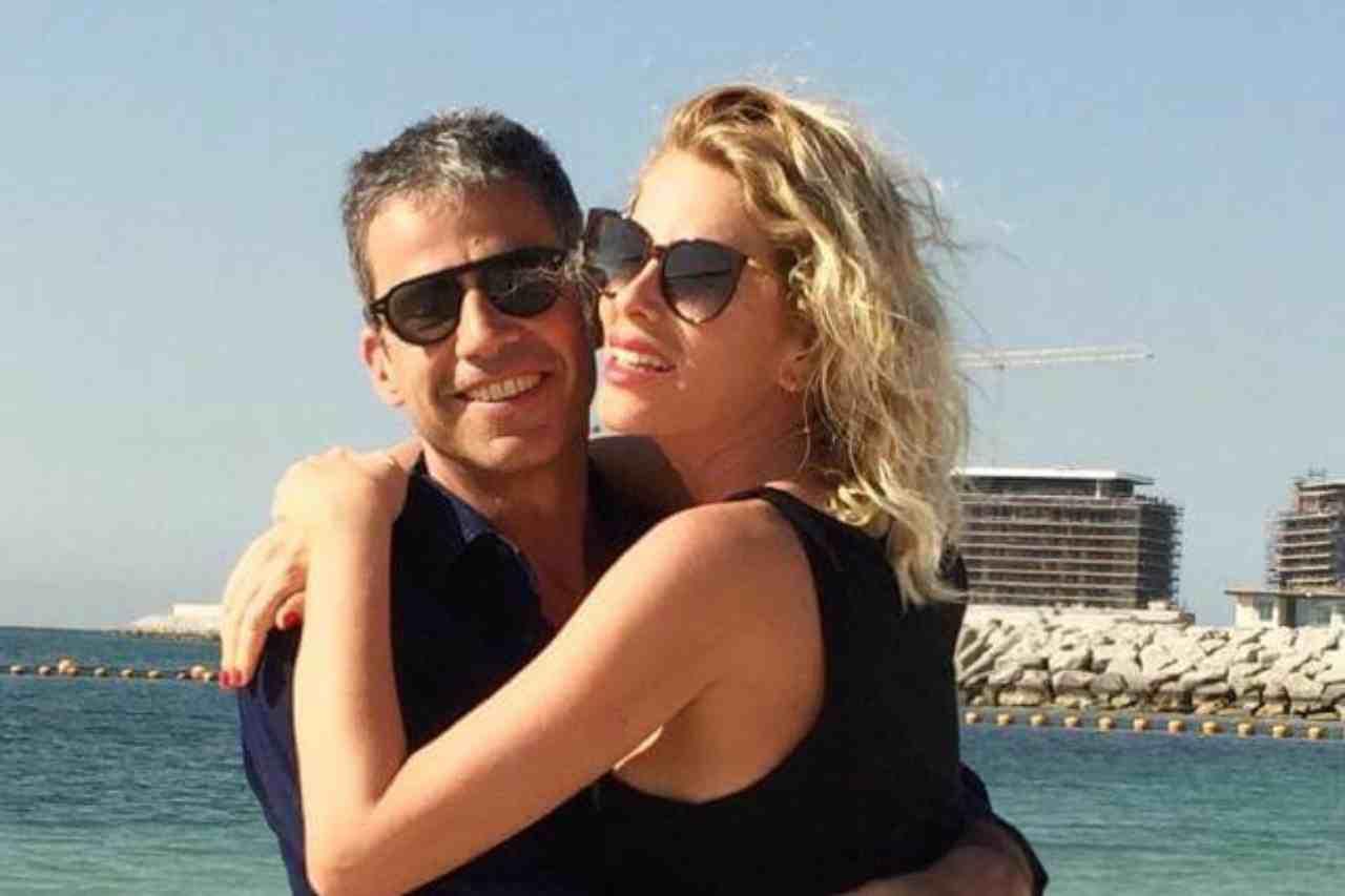 """Alessia Marcuzzi e Paolo Calabresi, la conduttrice smentisce: """"ma quale crisi"""""""
