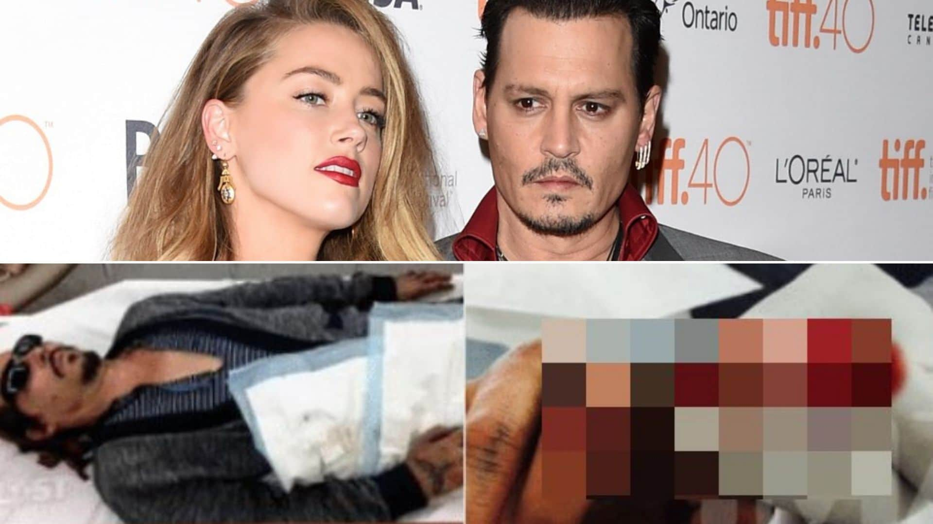 Johnny Depp all'ex moglie Amber Heard, tra accuse reciproche di botte, violenze