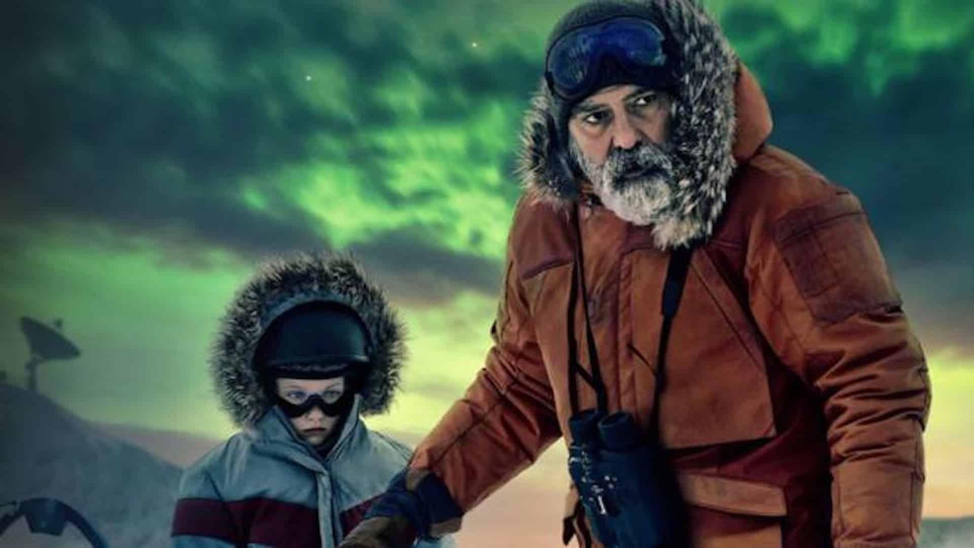 George Clooney su Netflix con The Midnight Sky, film diretto e interpretato da lui stesso